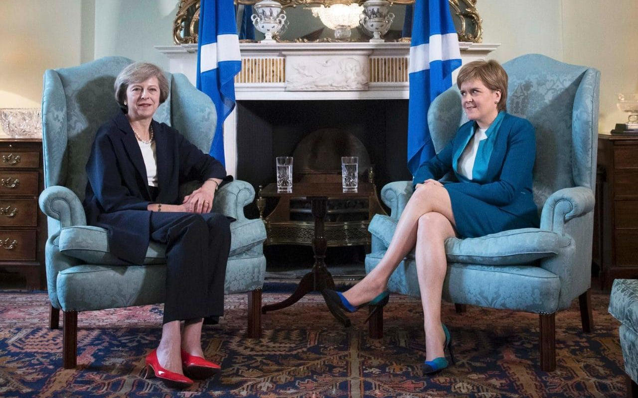 Theresa May braced for a second Scottish independence referendum