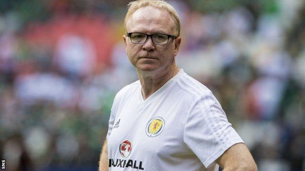 Mexico v Scotland: Alex McLeish says players 'did Scotland proud'